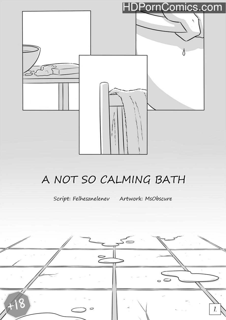 A Not So Calming Bath Sex Comic