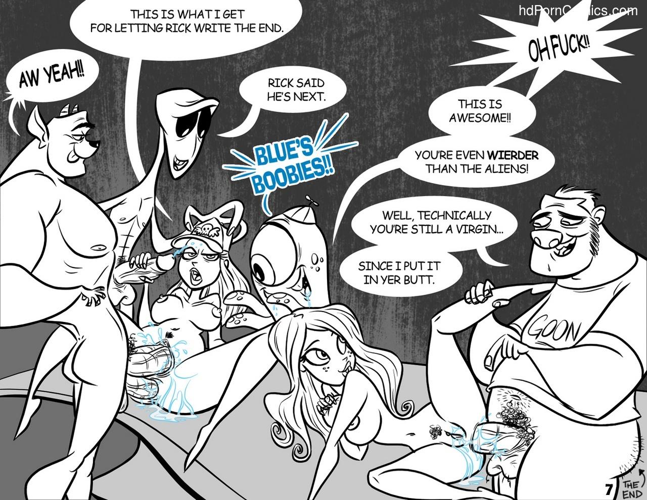 A Perfect Speciman Sex Comic