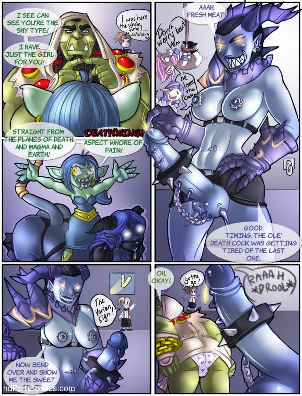 wow porn comics