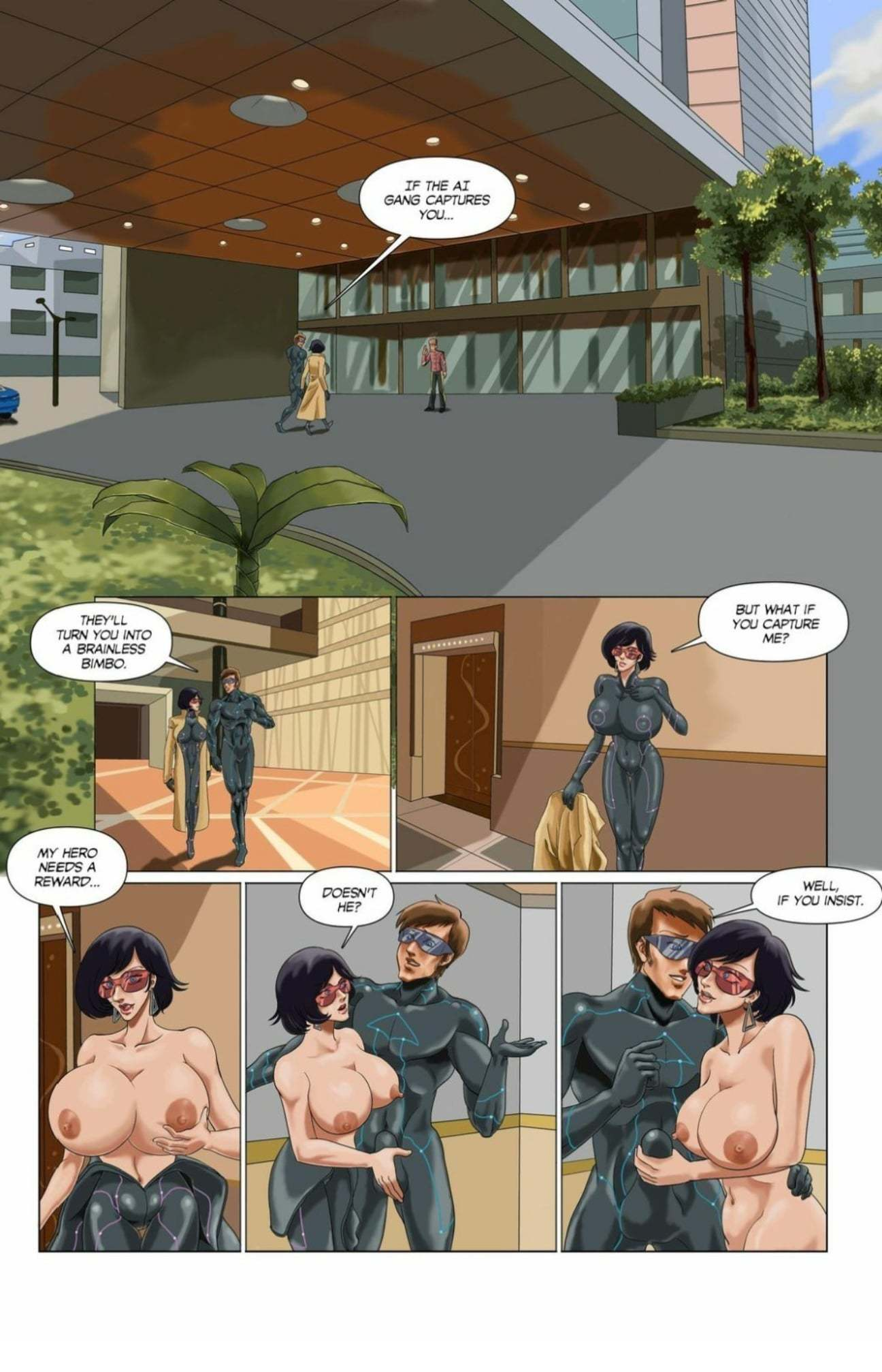 Adult comics-Guaranteed as Advertised Deanna's Story10 free sex comic