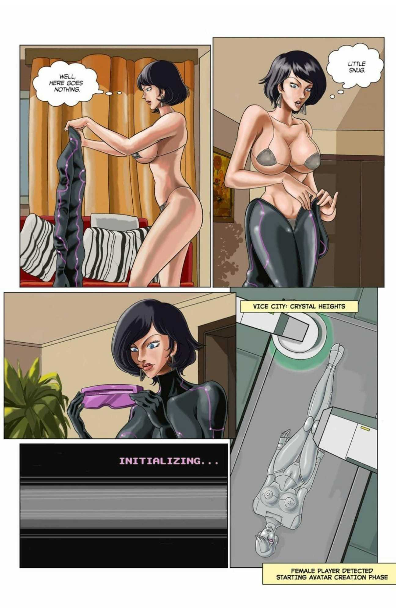 Adult comics-Guaranteed as Advertised Deanna's Story5 free sex comic