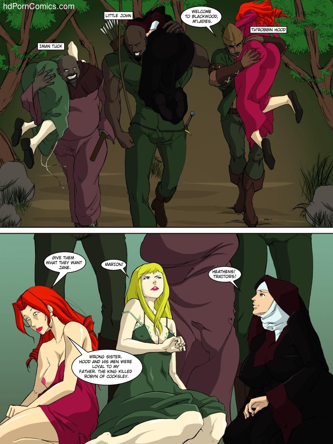 Adventures of Throbbin Hood15 free sex comic
