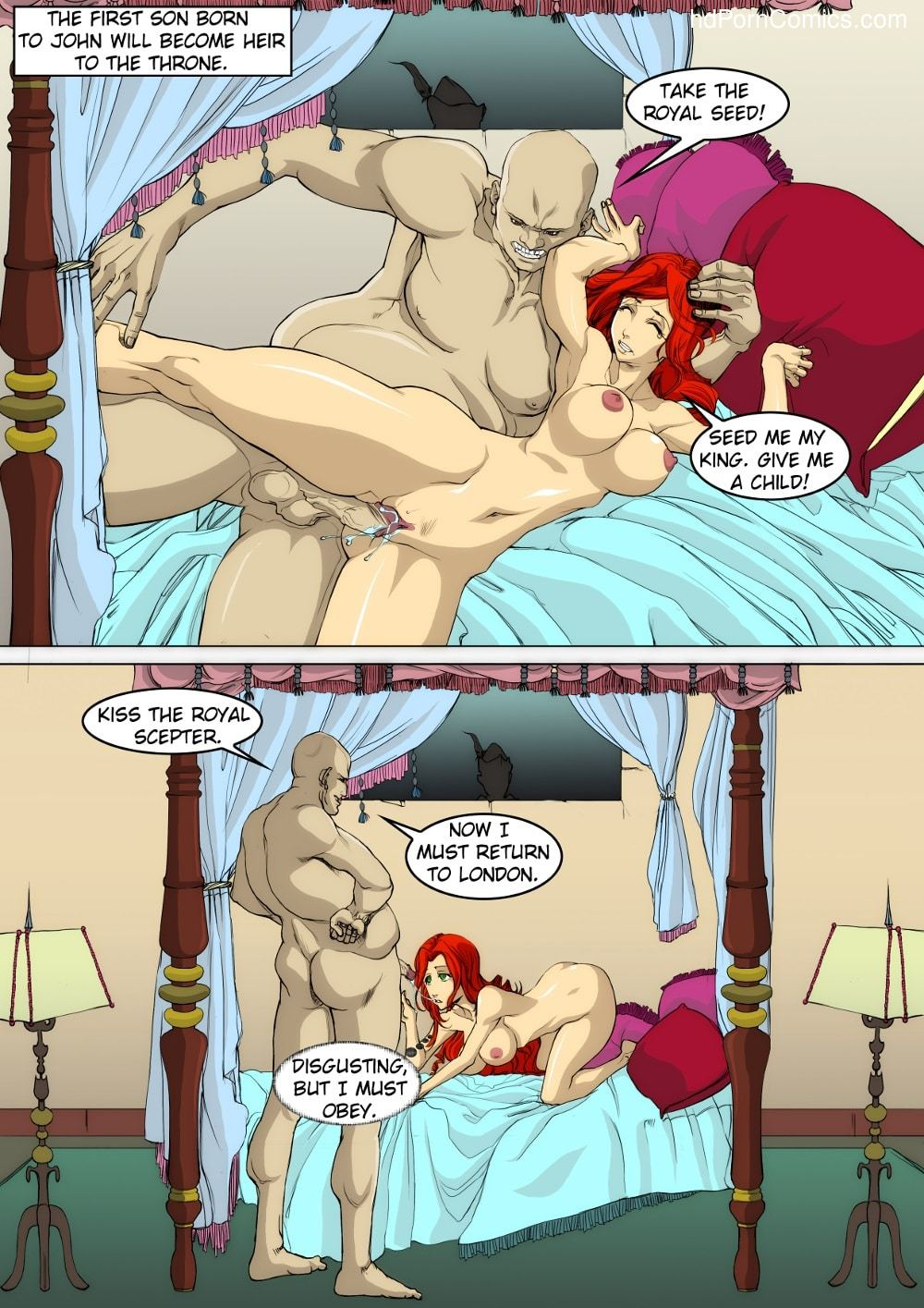 Adventures of Throbbin Hood3 free sex comic