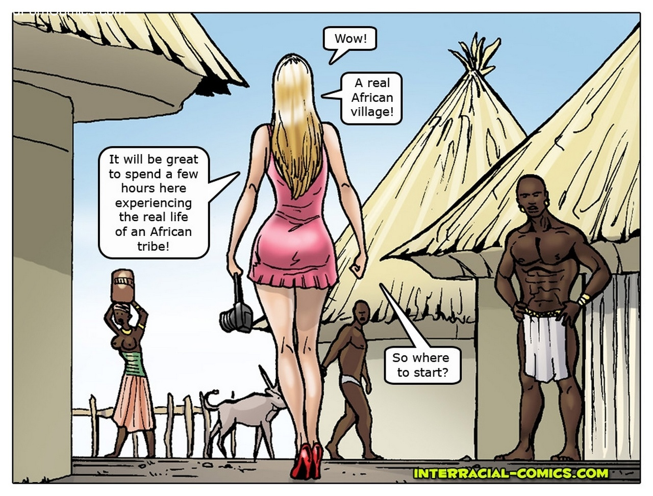 african porn comics