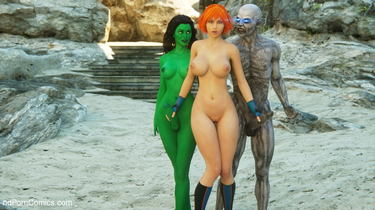 Agent A – Space Lust comic porn