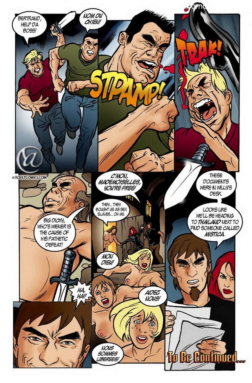 Agents 69 1 Sex Comic