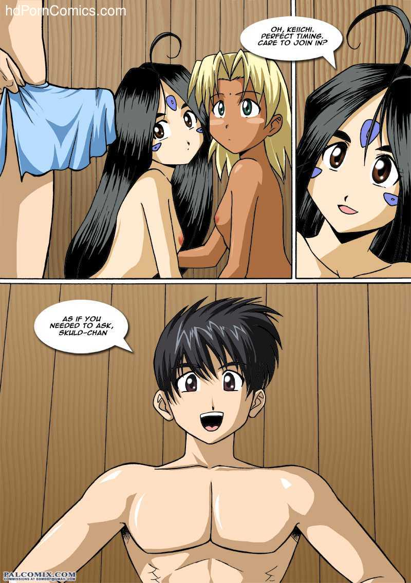 Ah My Goddess - The Goddess and the Princess 24 free sex comic