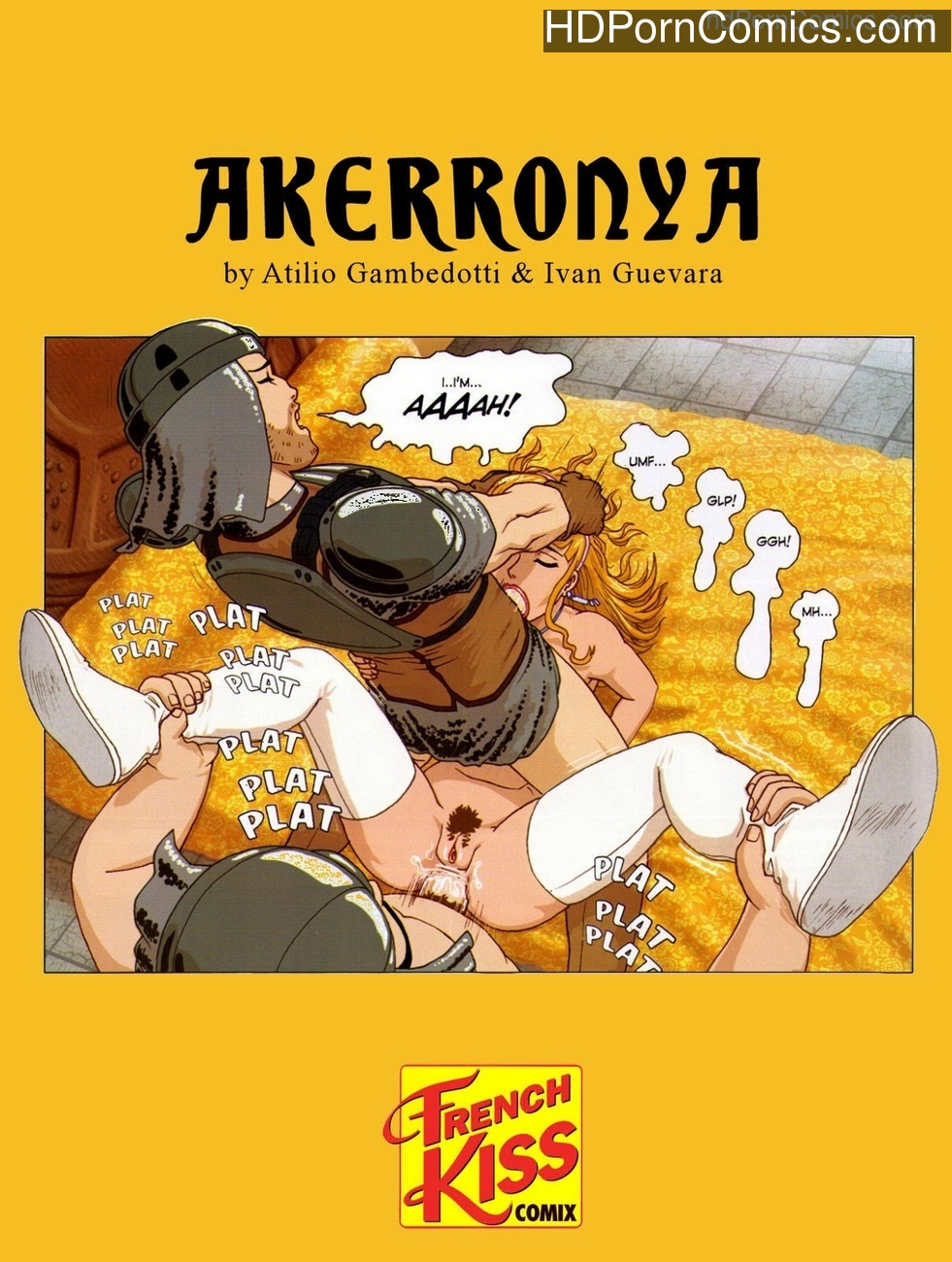 Akerronya Sex Comic