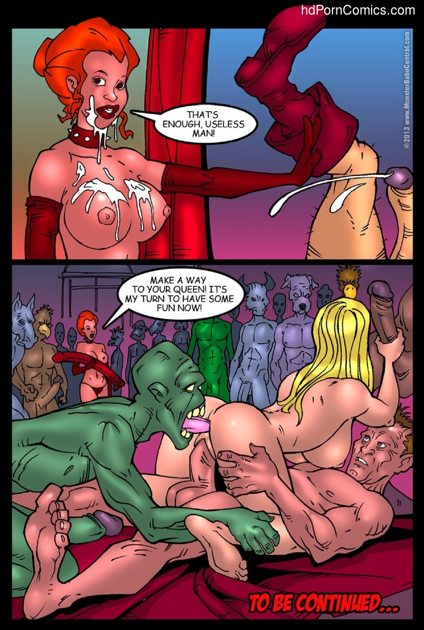 Alice In Monsterland 7 – The Queen Of Hearts Orgy Sex Comic