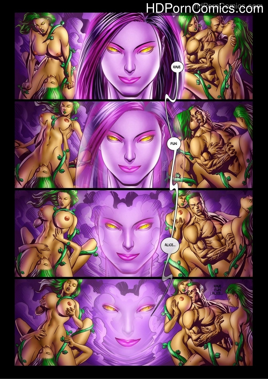 Alicia Goes Wonderland 2 11 free sex comic