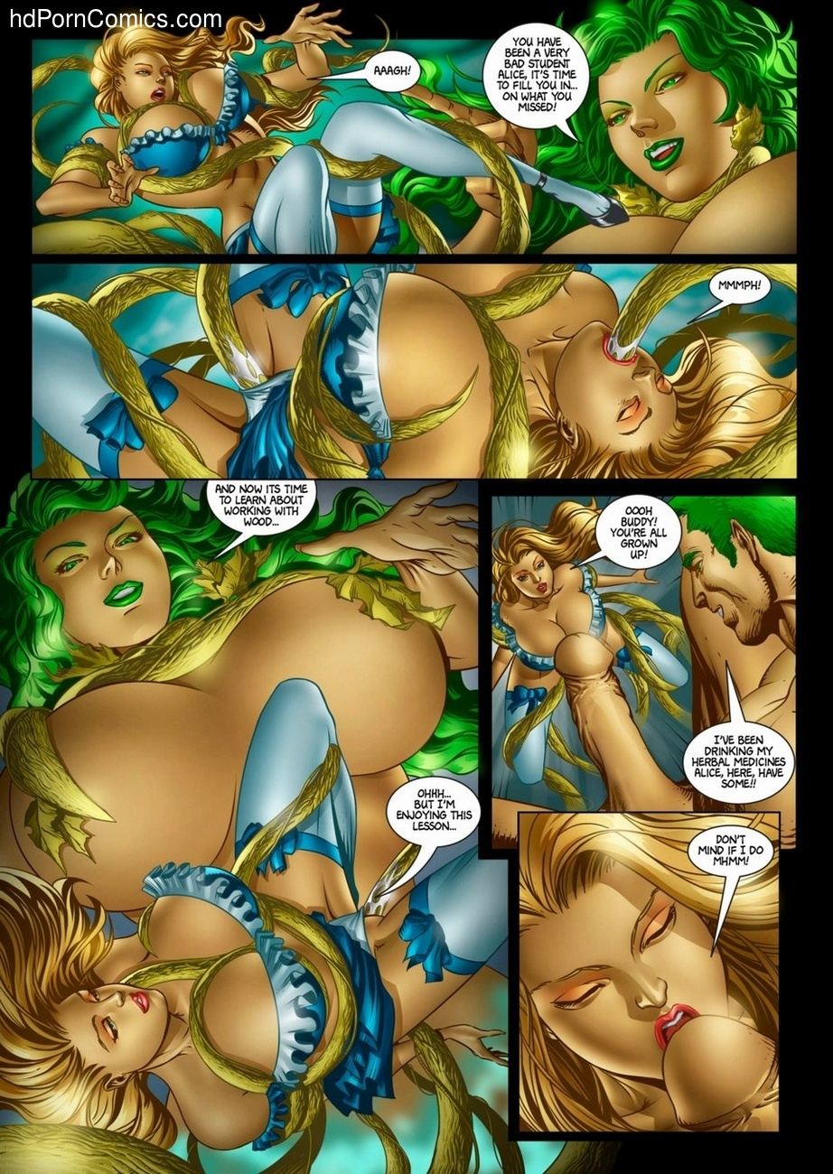 Alicia Goes Wonderland 2 13 free sex comic