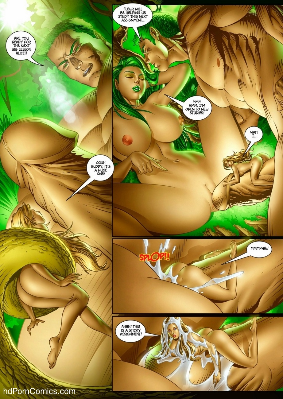 Alicia Goes Wonderland 2 16 free sex comic