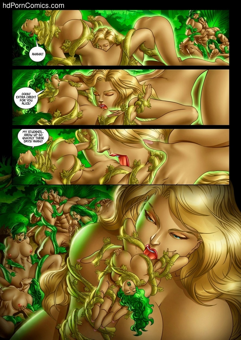 Alicia Goes Wonderland 2 18 free sex comic