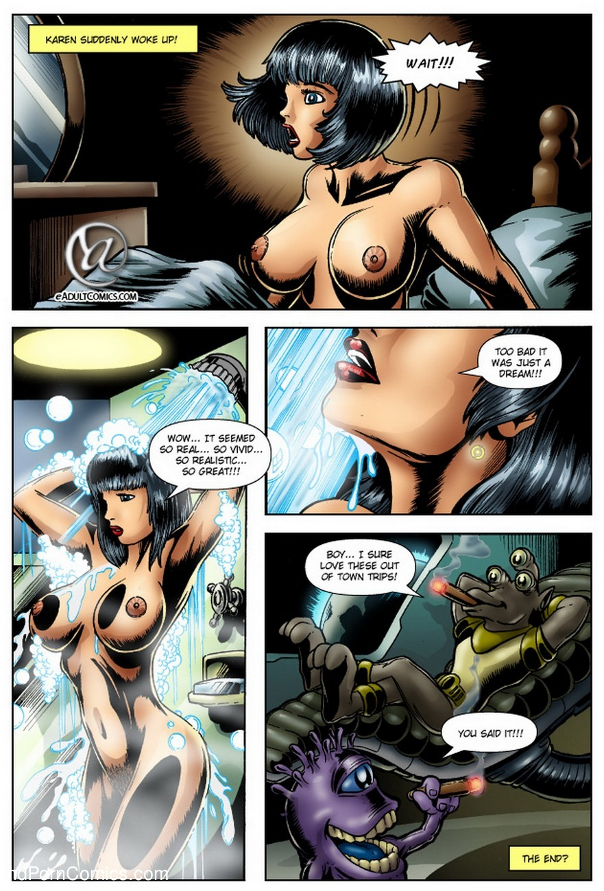 Alien Abduction 1 – Unexpected Visitors Sex Comic