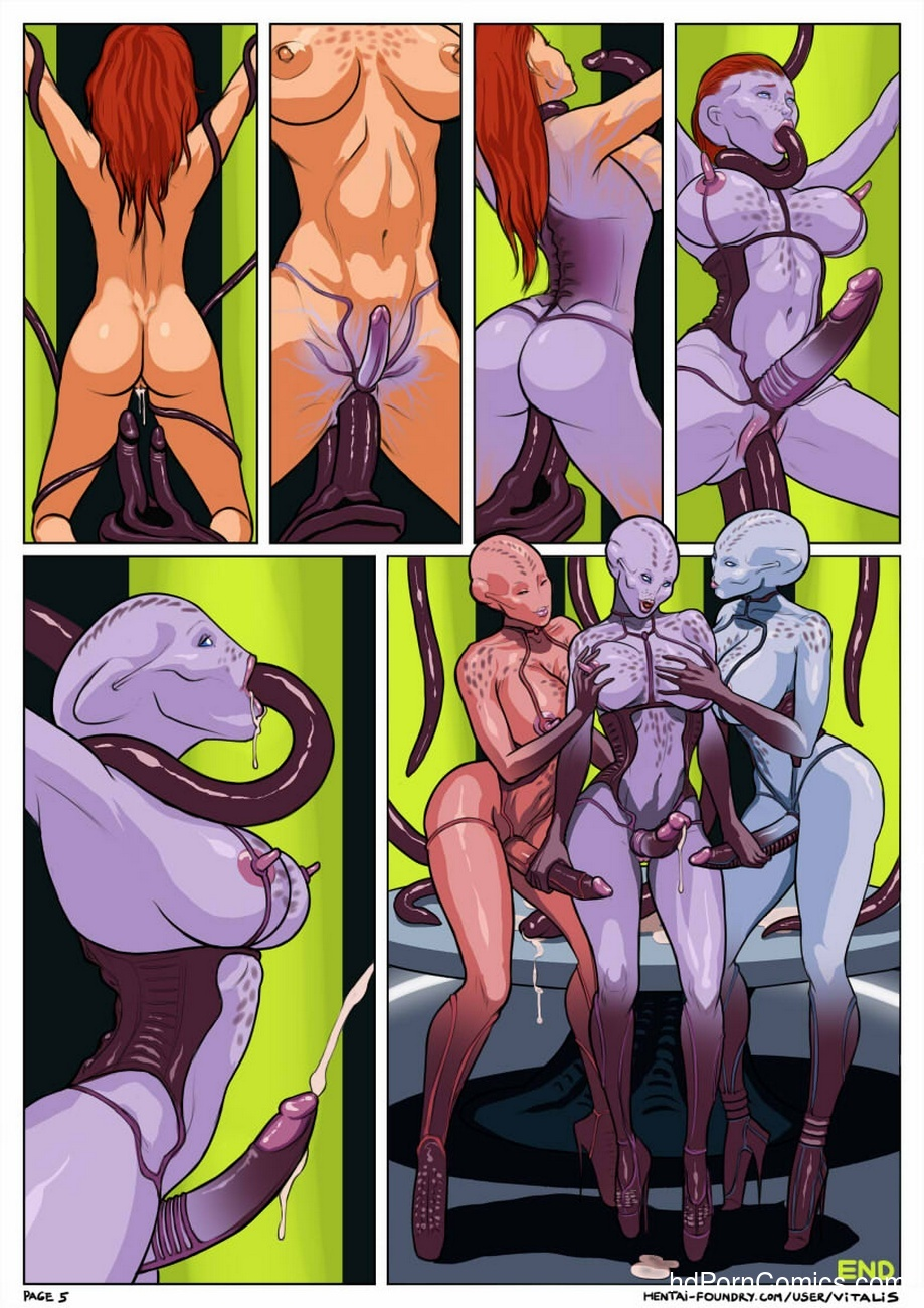 sex comic space