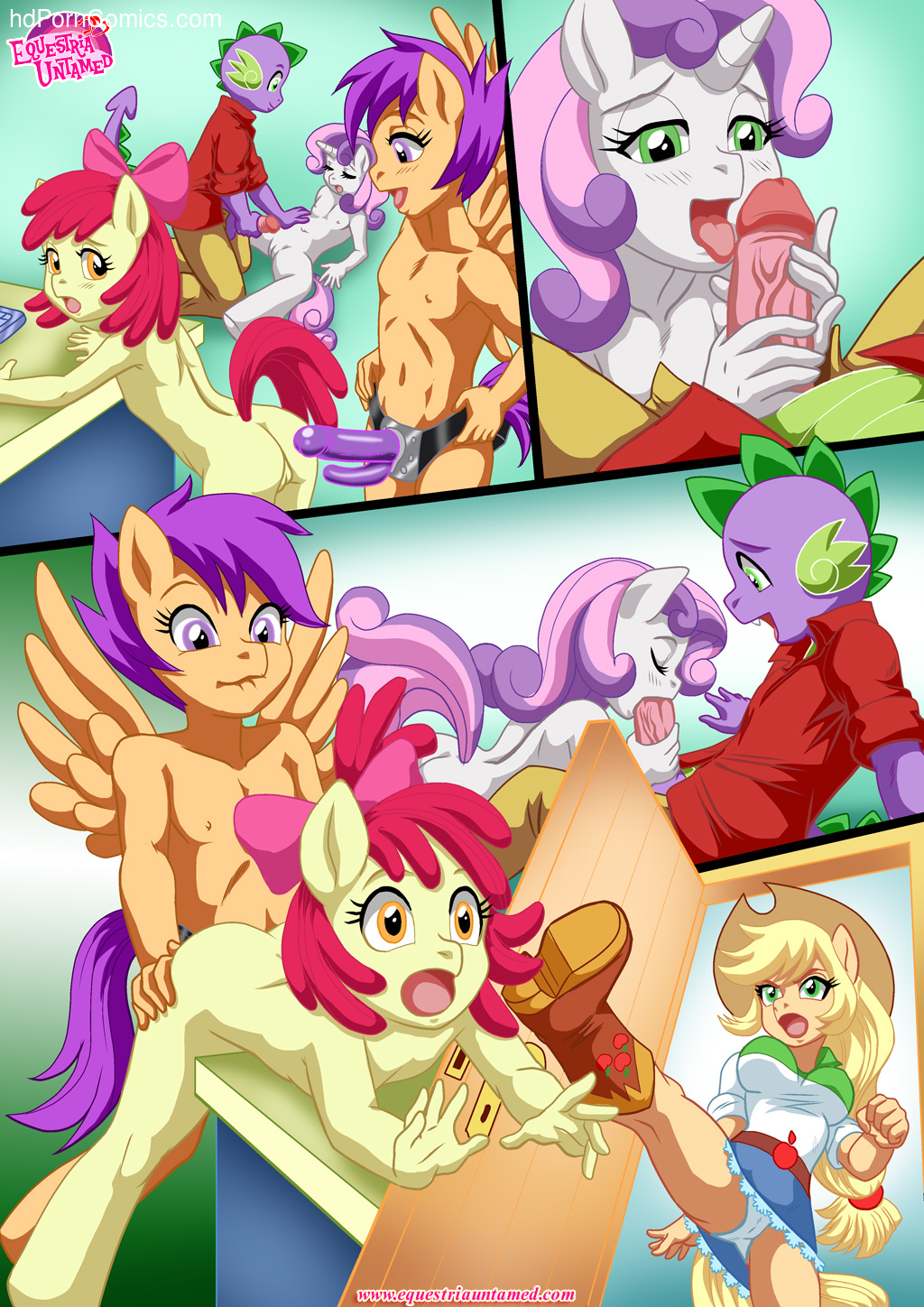 Also Rarity (My Little Pony Friendship Is Magic) - Porncomics14 free sex comic