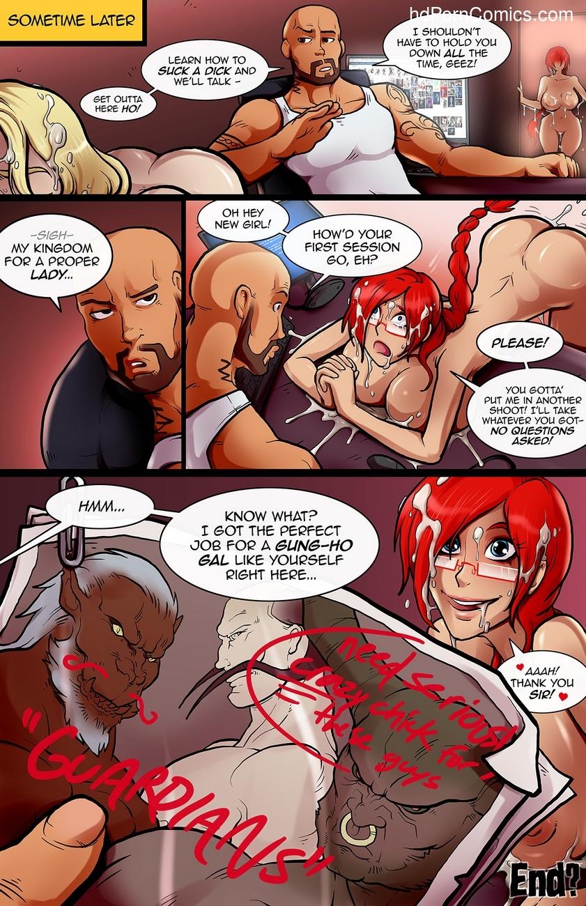 Alyssa's Audition Sex Comic
