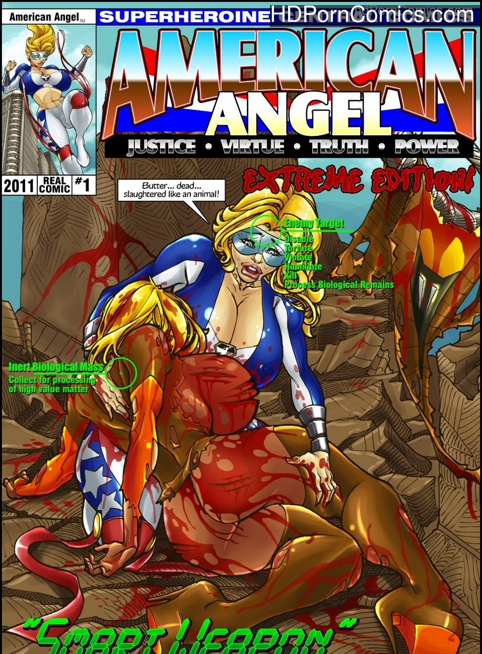 American Angel 1 – Smart Weapon comic porn
