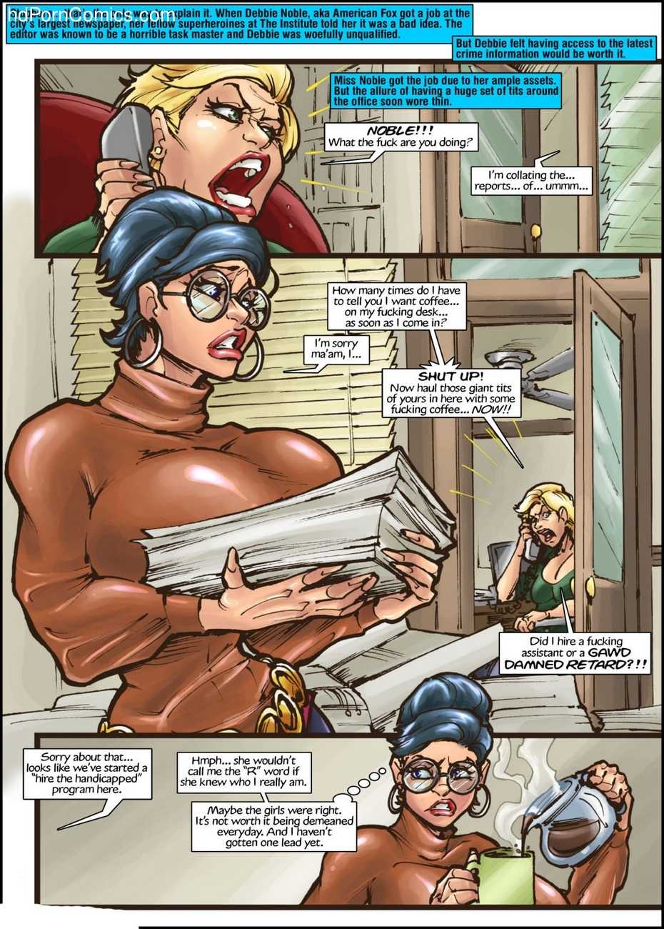 American Fox 1 - Spotlight On Terror 2 free sex comic