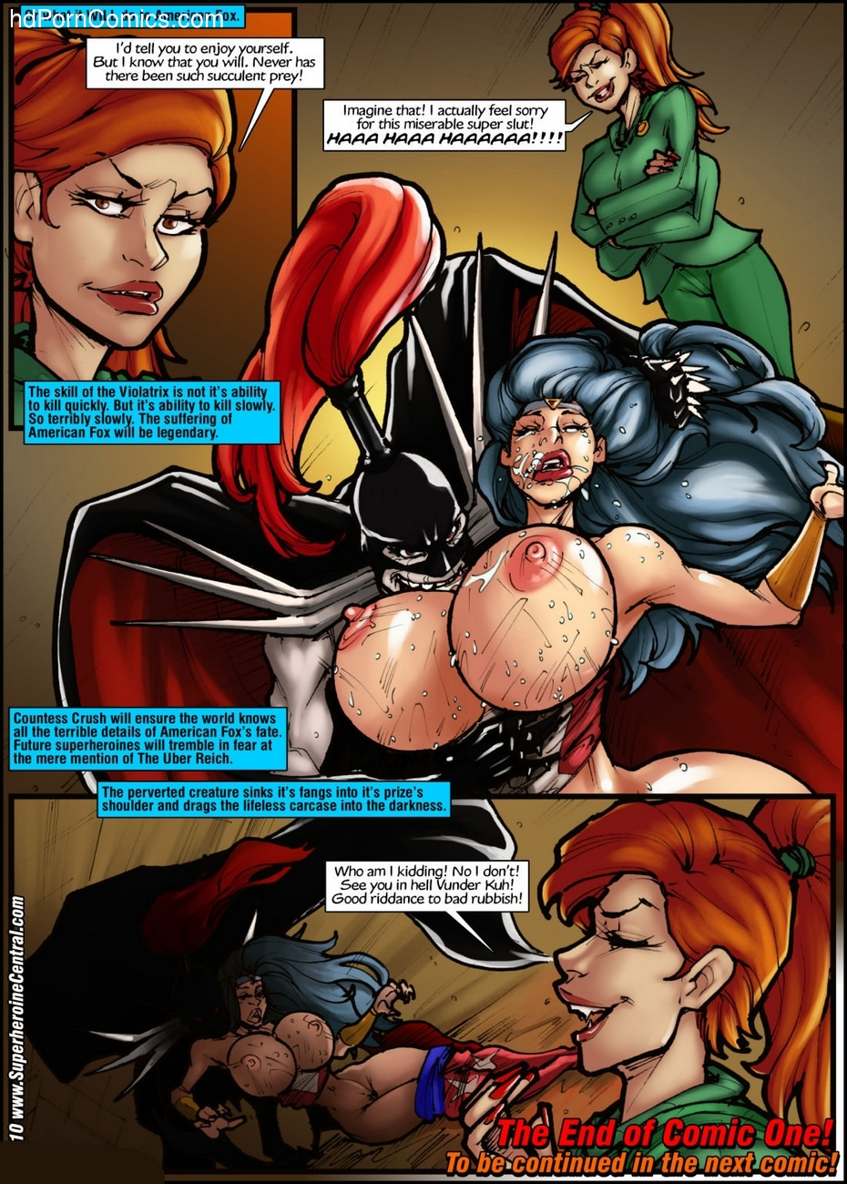 American Fox 1 - Spotlight On Terror 26 free sex comic