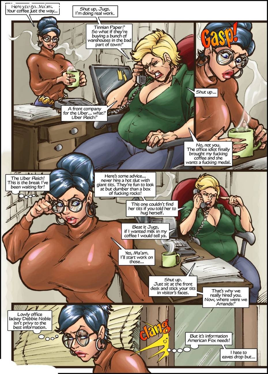 American Fox 1 - Spotlight On Terror 3 free sex comic