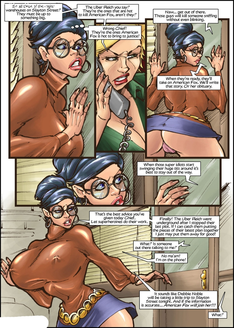 American Fox 1 - Spotlight On Terror 4 free sex comic