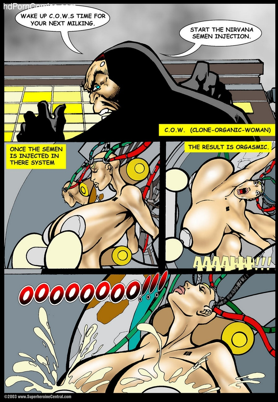 American Fox - Return Of Countess Crush 1 2 free sex comic