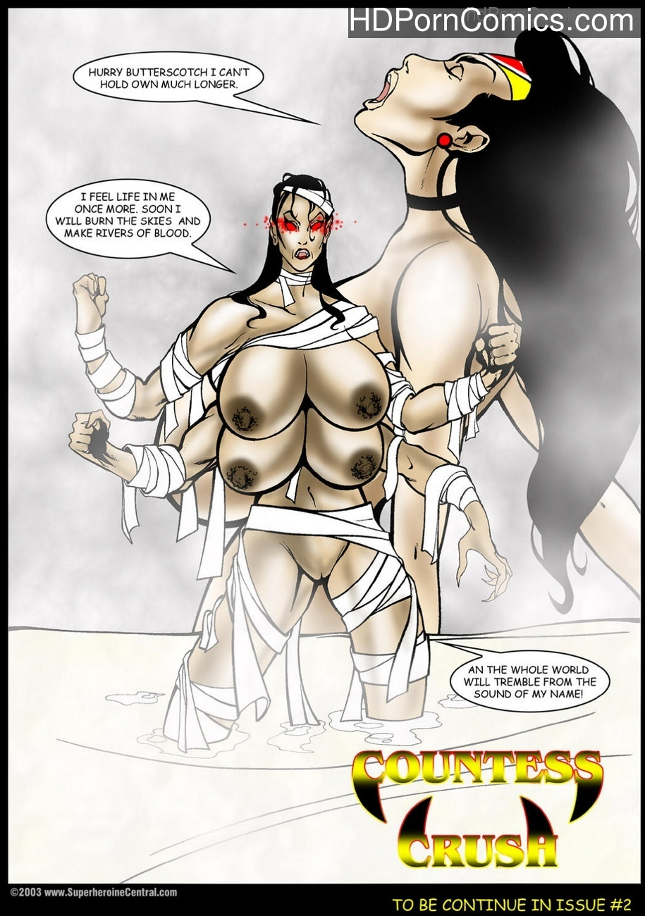 American Fox – Return Of Countess Crush 1 Sex Comic