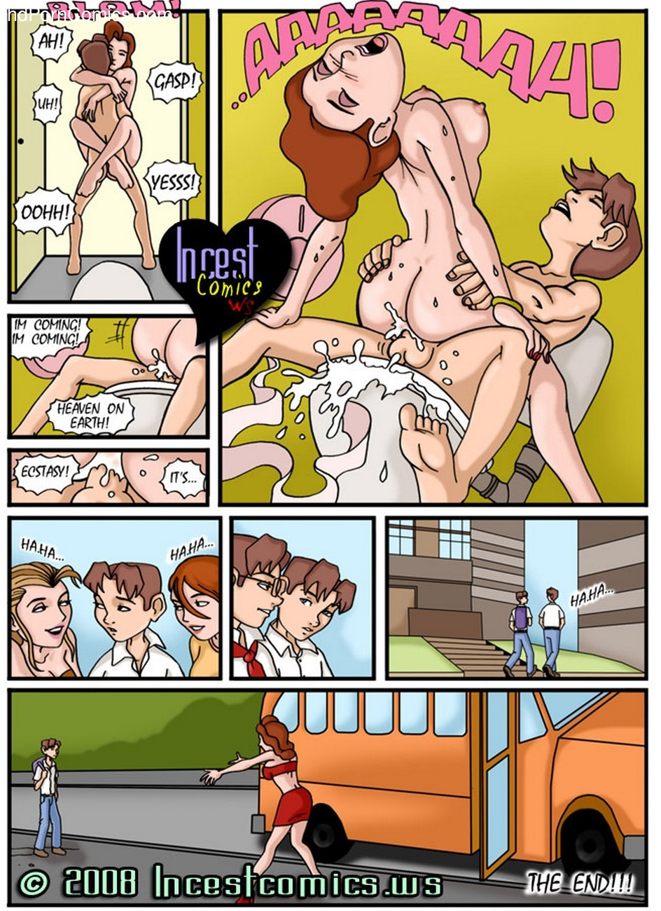 Another Family 8 – Valentine's Day Sex Comic