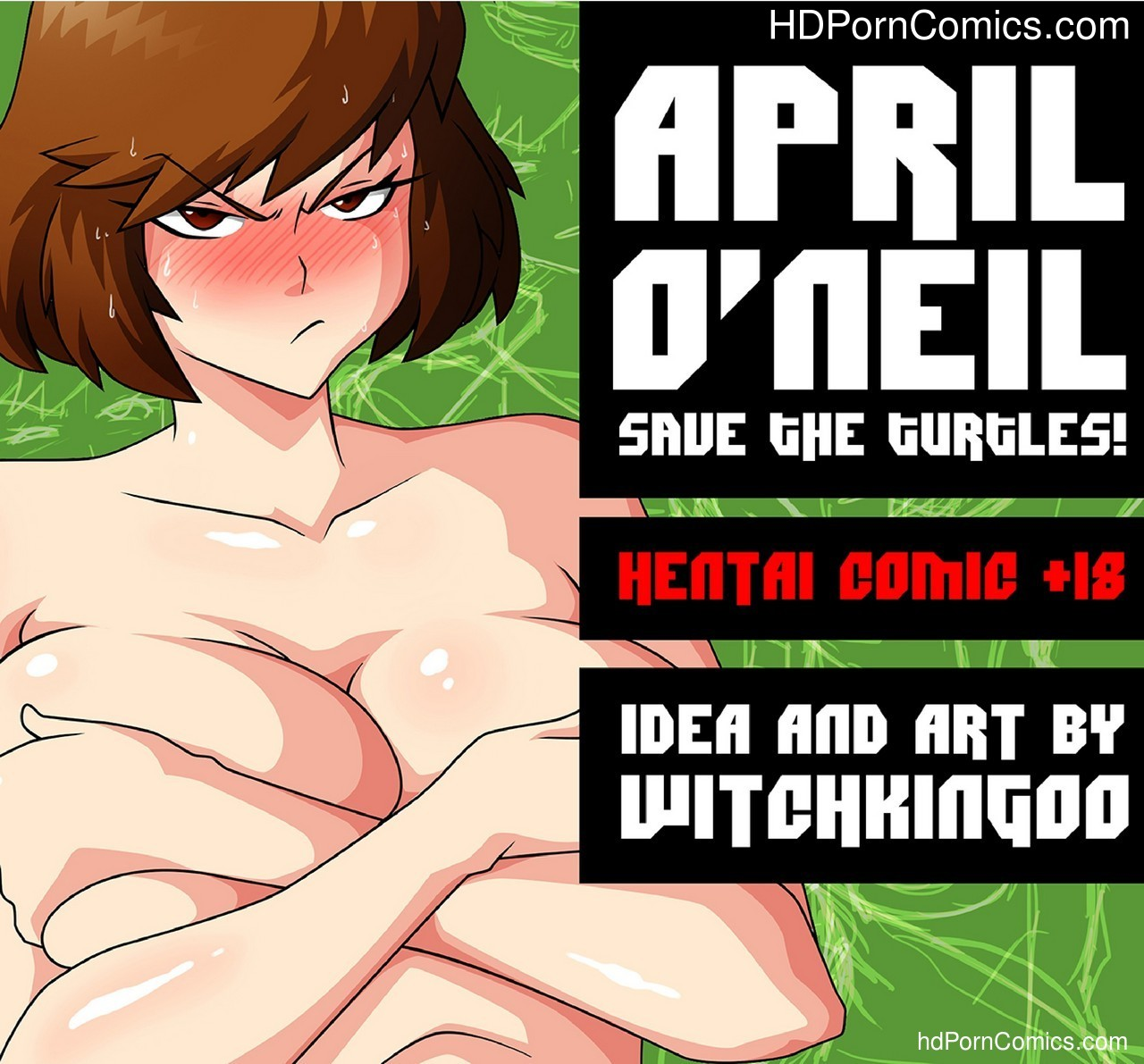 April O'Neil 1 – Save The Turtles Sex Comic