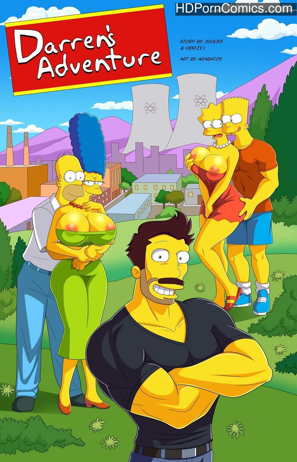 Arabatos – Darren's Adventure Simpsons1 free sex comic