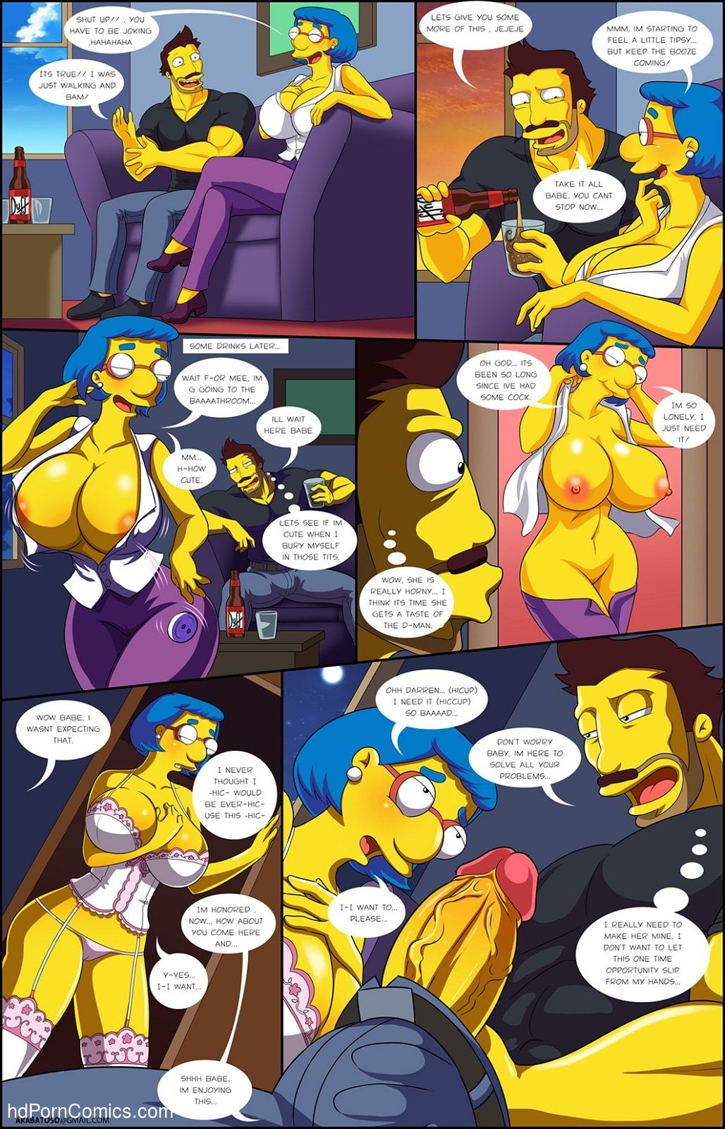 Arabatos – Darren's Adventure Simpsons19 free sex comic