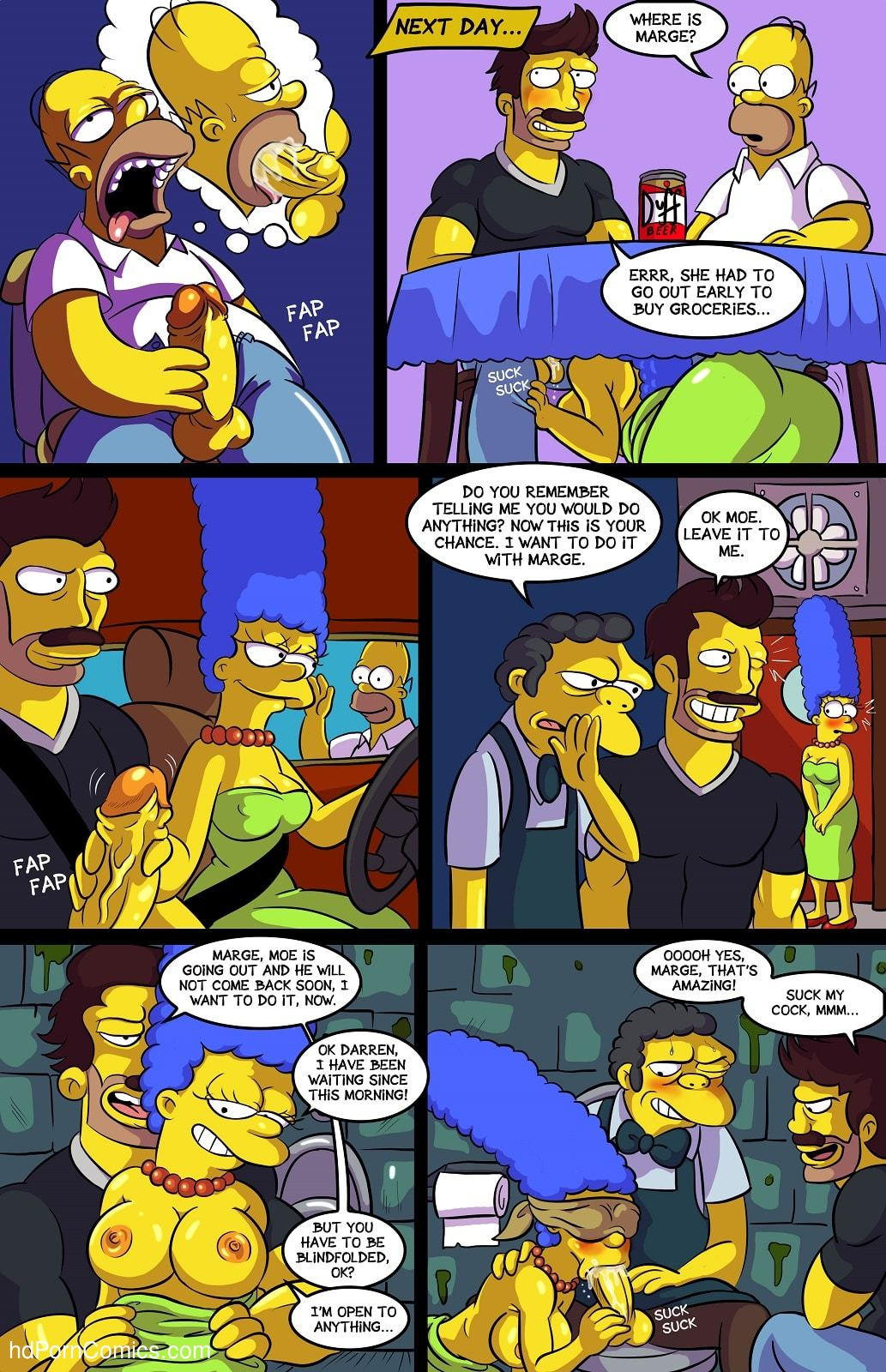 Arabatos – Darren's Adventure Simpsons7 free sex comic
