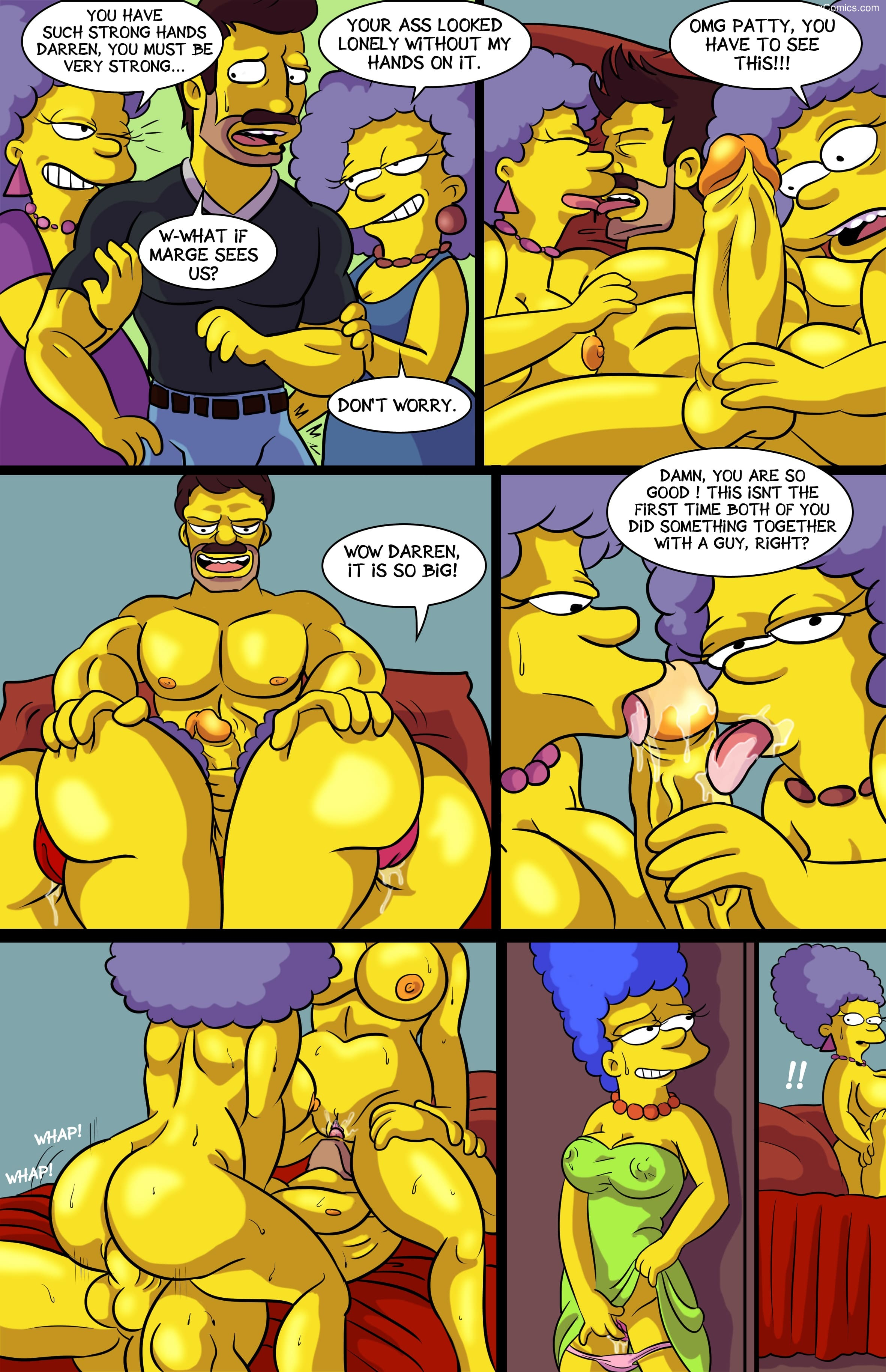 Arabatos – Darren's Adventure Simpsons9 free sex comic