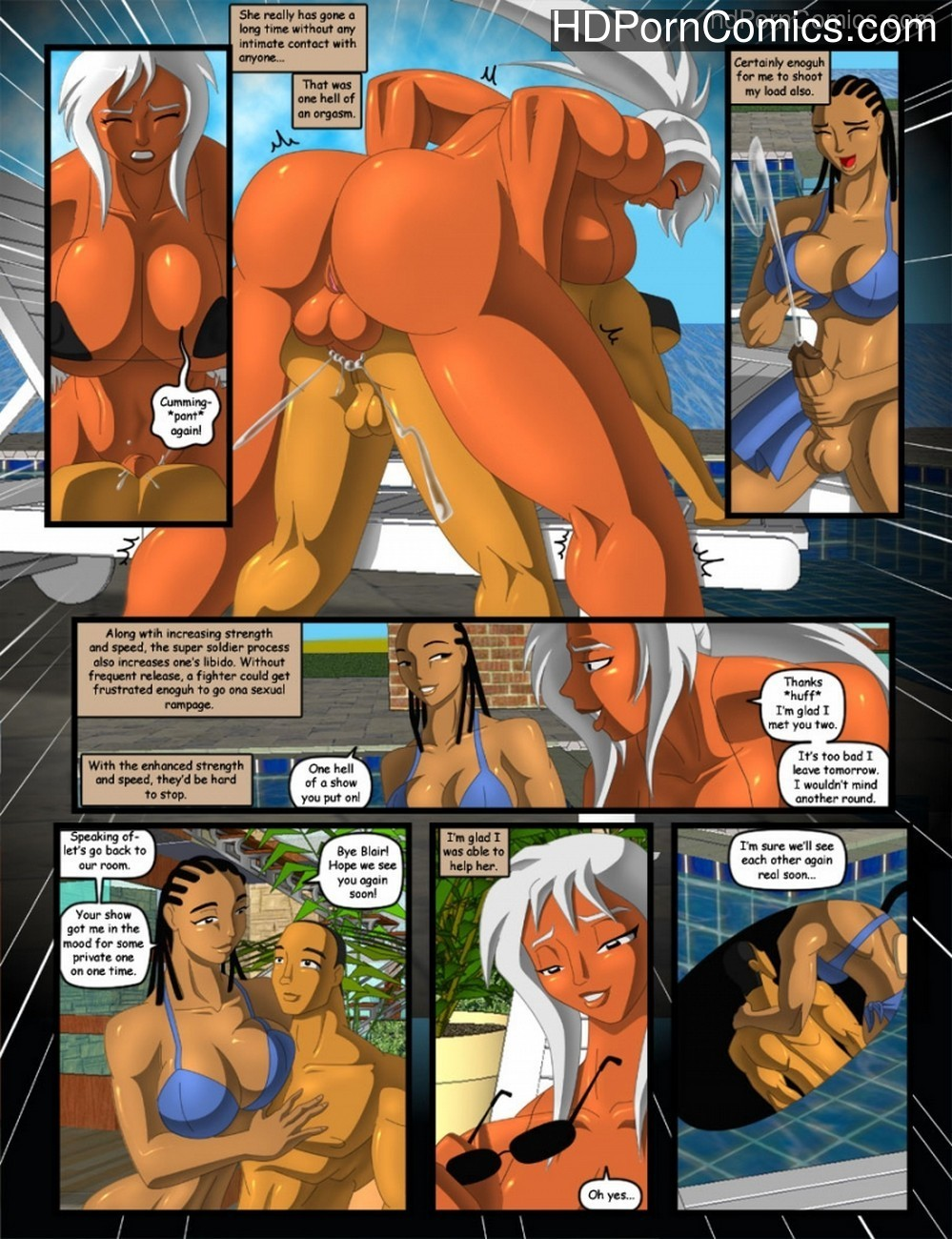 Arena Sex Comic