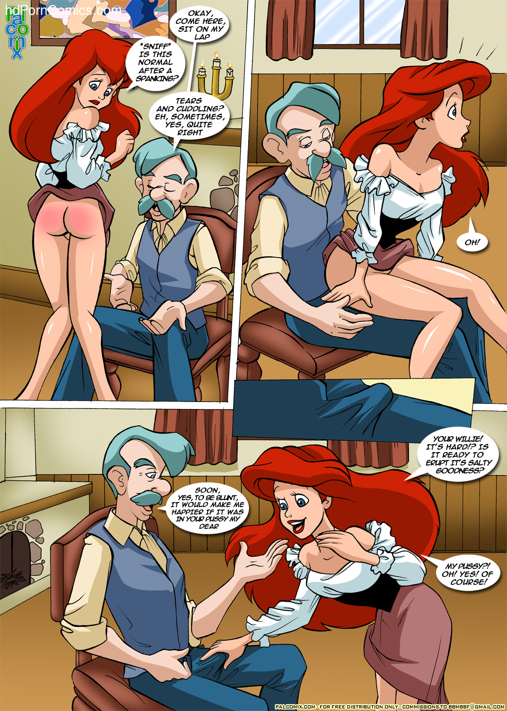 The little mermaid porn comics