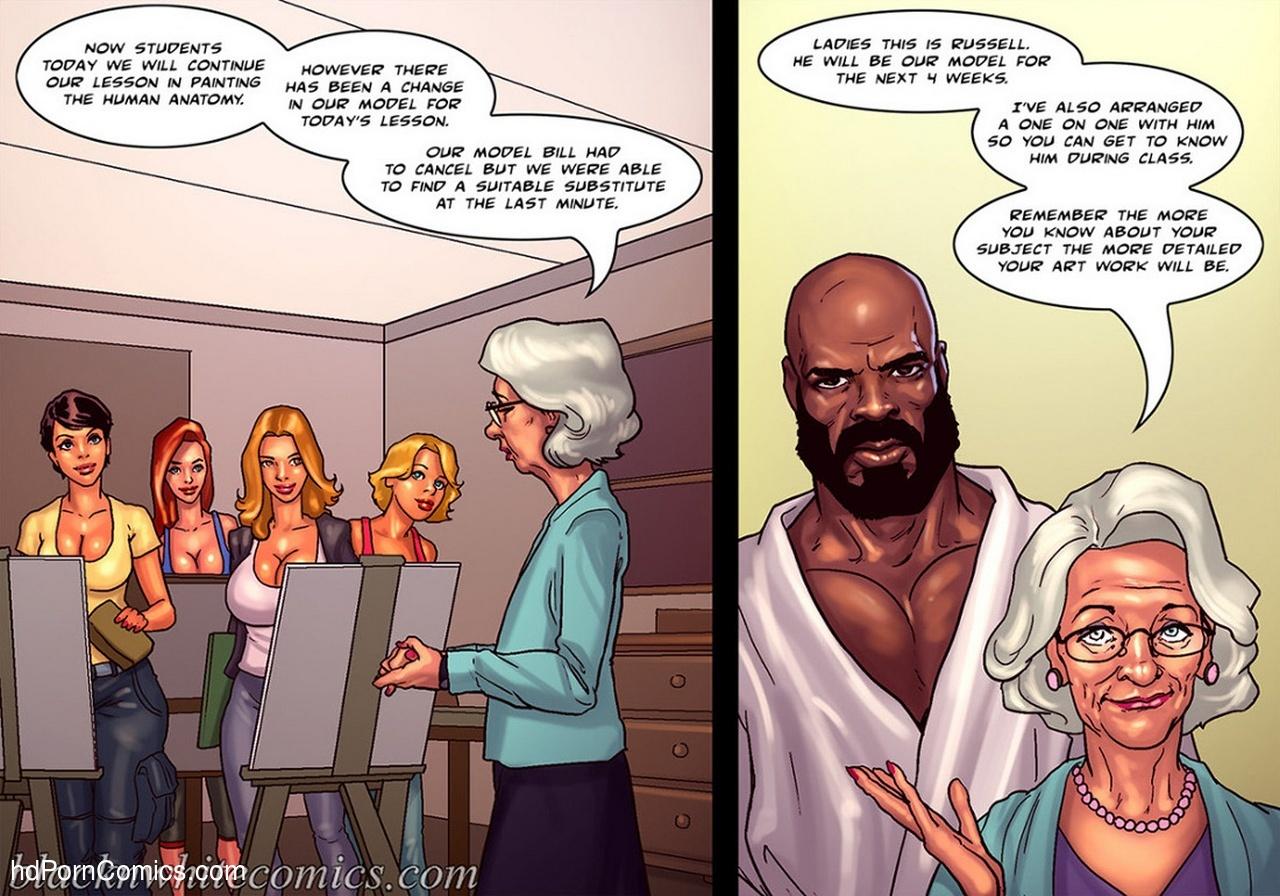 Art Class Sex Comic - HD Porn Comics