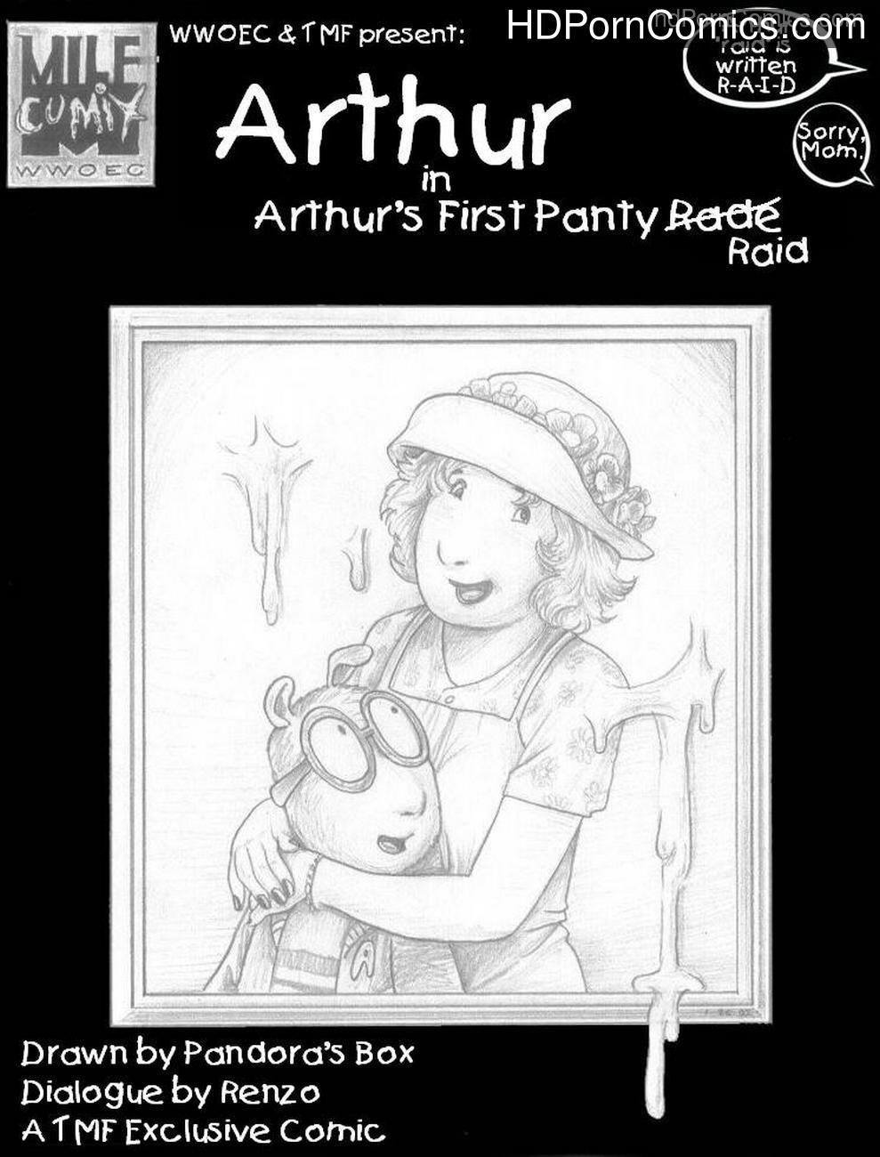 Arthur's First Panty Raid 1 free sex comic