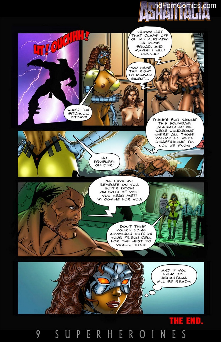 Ashantalia – Master Of Arms Sex Comic