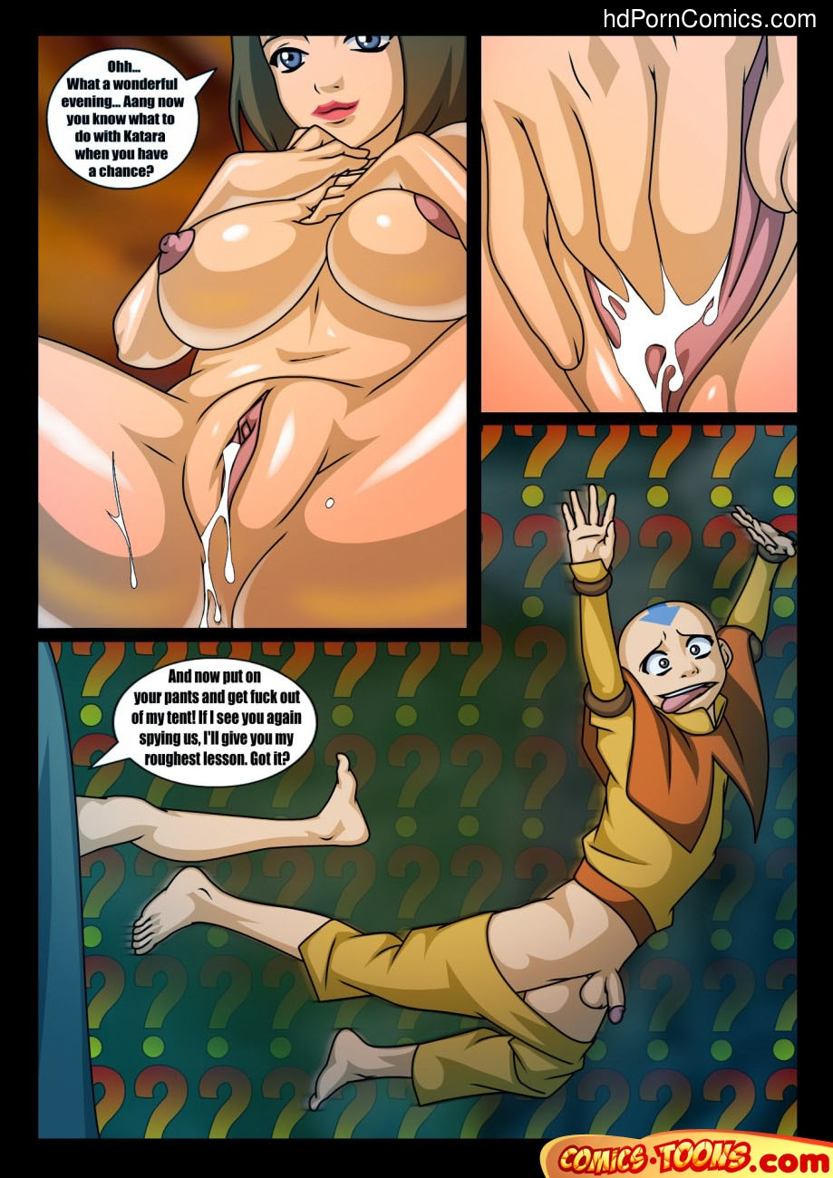 Avatar Last Airbender– Lessons of Love free Cartoon Porn Comic