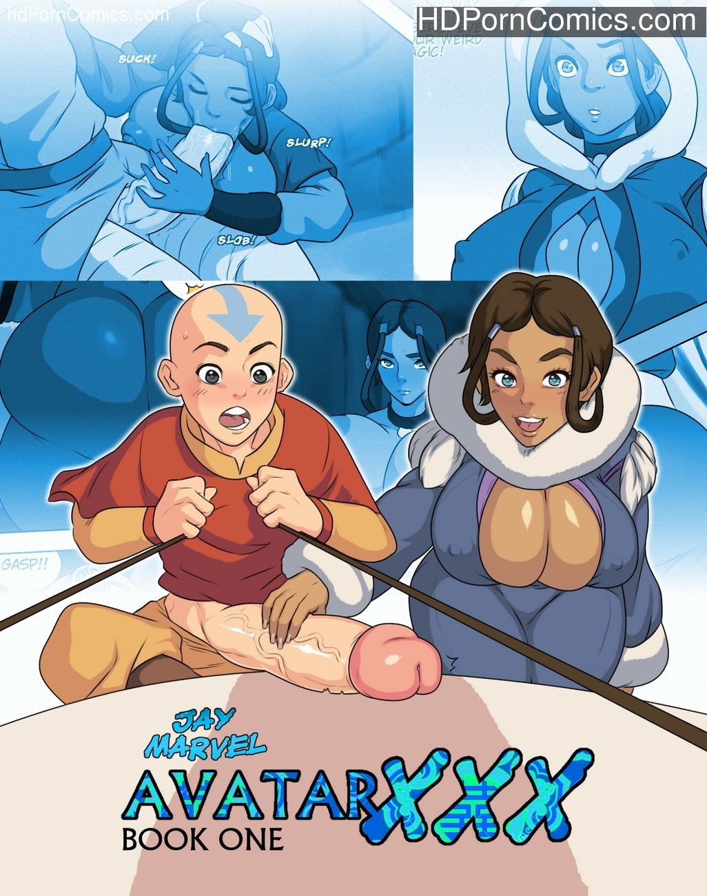 Avatar XXX - Book One 1 free avatar Porn Comics