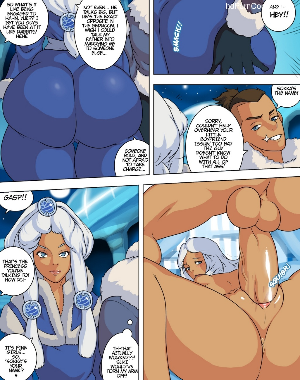 Avatar XXX - Book One 10 free sex comic