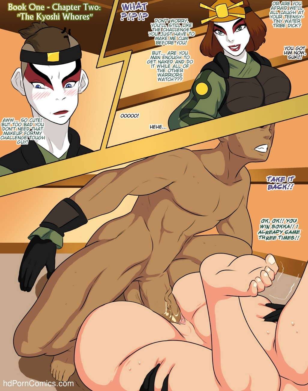 Avatar XXX - Book One 3 free sex comic