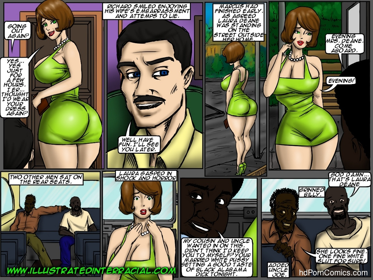 Back Of The Bus 8 free sex comic