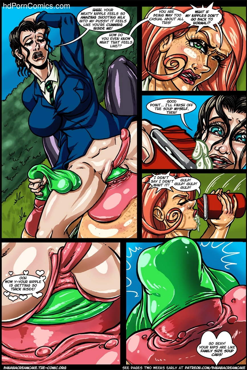 Banana Cream Cake 12 - Lunch With Karen 13 free sex comic