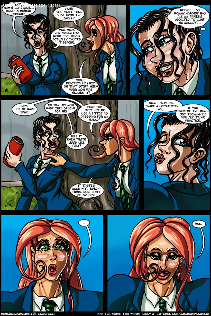 Banana Cream Cake 12 - Lunch With Karen 3 free sex comic