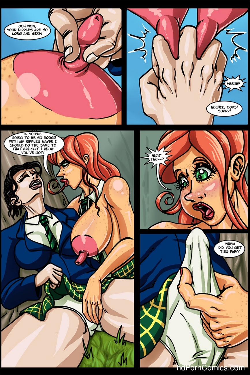 Banana Cream Cake 12 - Lunch With Karen 7 free sex comic
