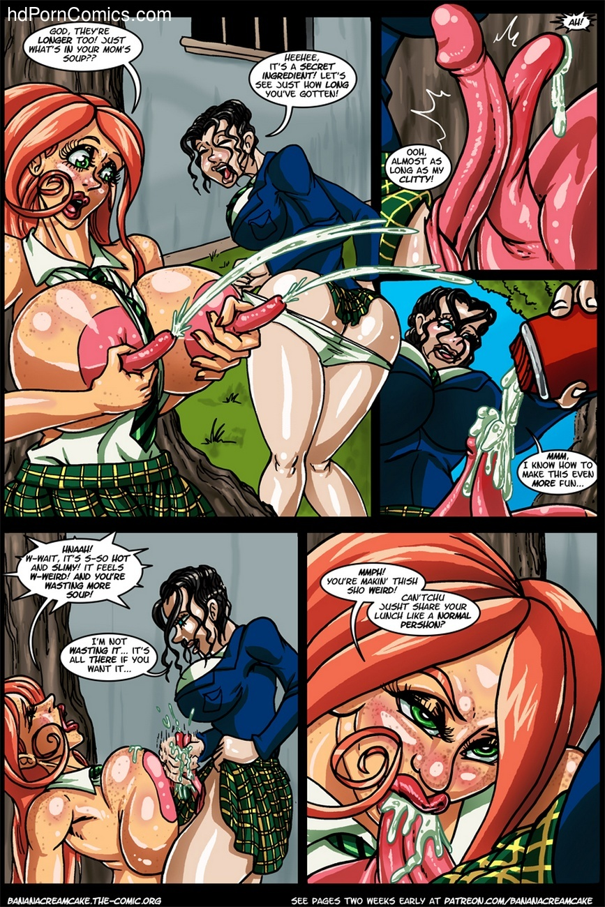 Banana Cream Cake 12 - Lunch With Karen 9 free sex comic