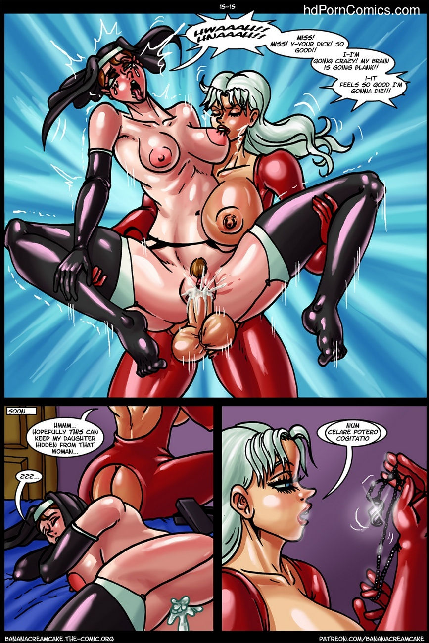 Banana Cream Cake 15 – Grandma's Pet Penguin Sex Comic