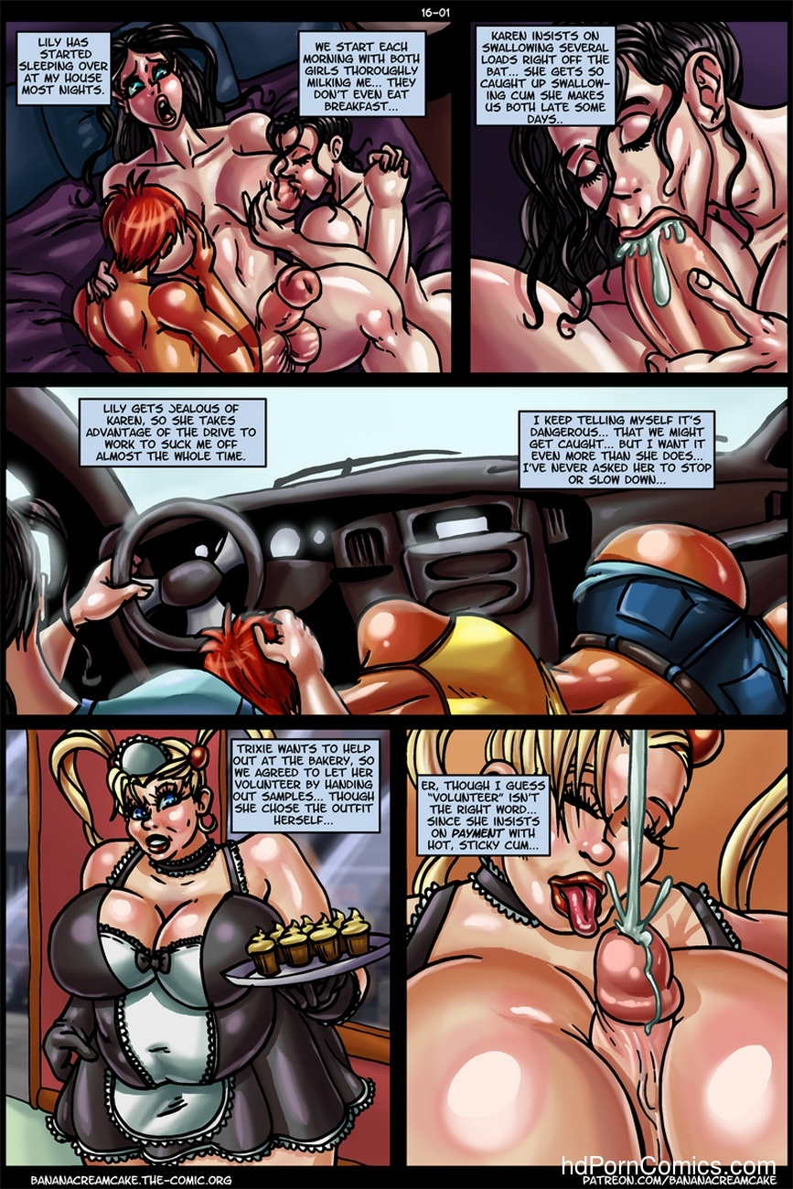 Banana Cream Cake 16 - Jenna's Walk 2 free sex comic